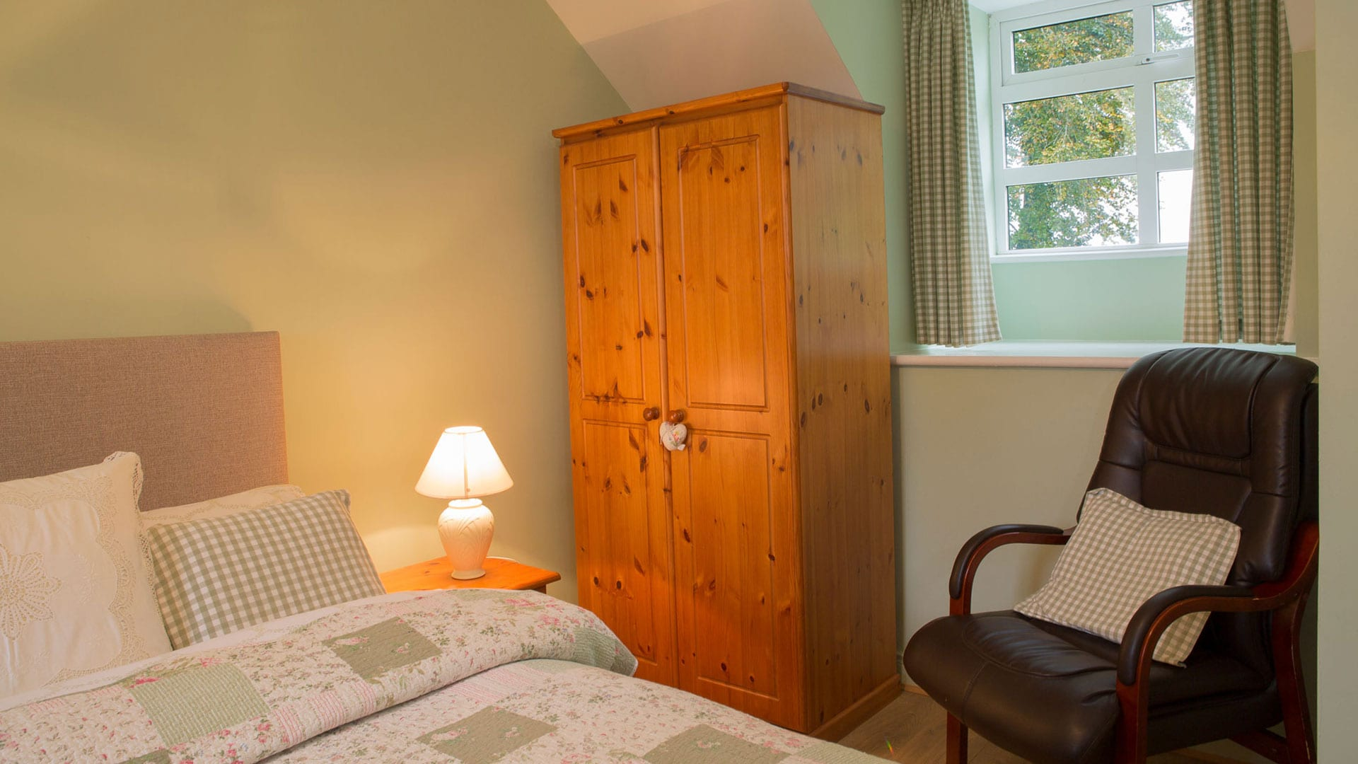 Chair-Wardrobe-Double-Room-Bedroom-Holiday-Homes-Ireland-Meath-Dunshaughlin-Self-Catering