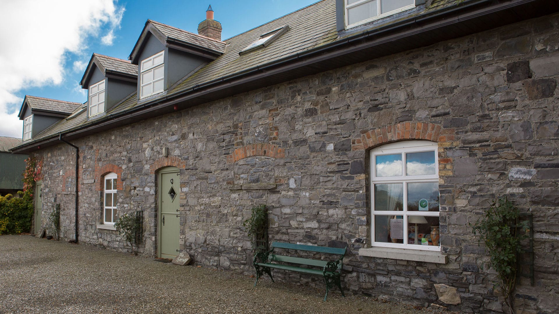 Cottage-House-Door-Facade-Outdoors-Nature-Field-Trees-Farm-Holiday-Homes-Ireland-Meath-Dunshaughlin-Self-Catering