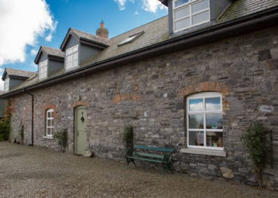 Cottage House Door Facade Outdoors Nature Field Trees Farm Holiday-Homes-Ireland-Meath-Dunshaughlin-Self-Catering