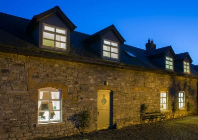 Cottage Night View Dark Holiday-Homes-Ireland-Meath-Dunshaughlin-Self-Catering