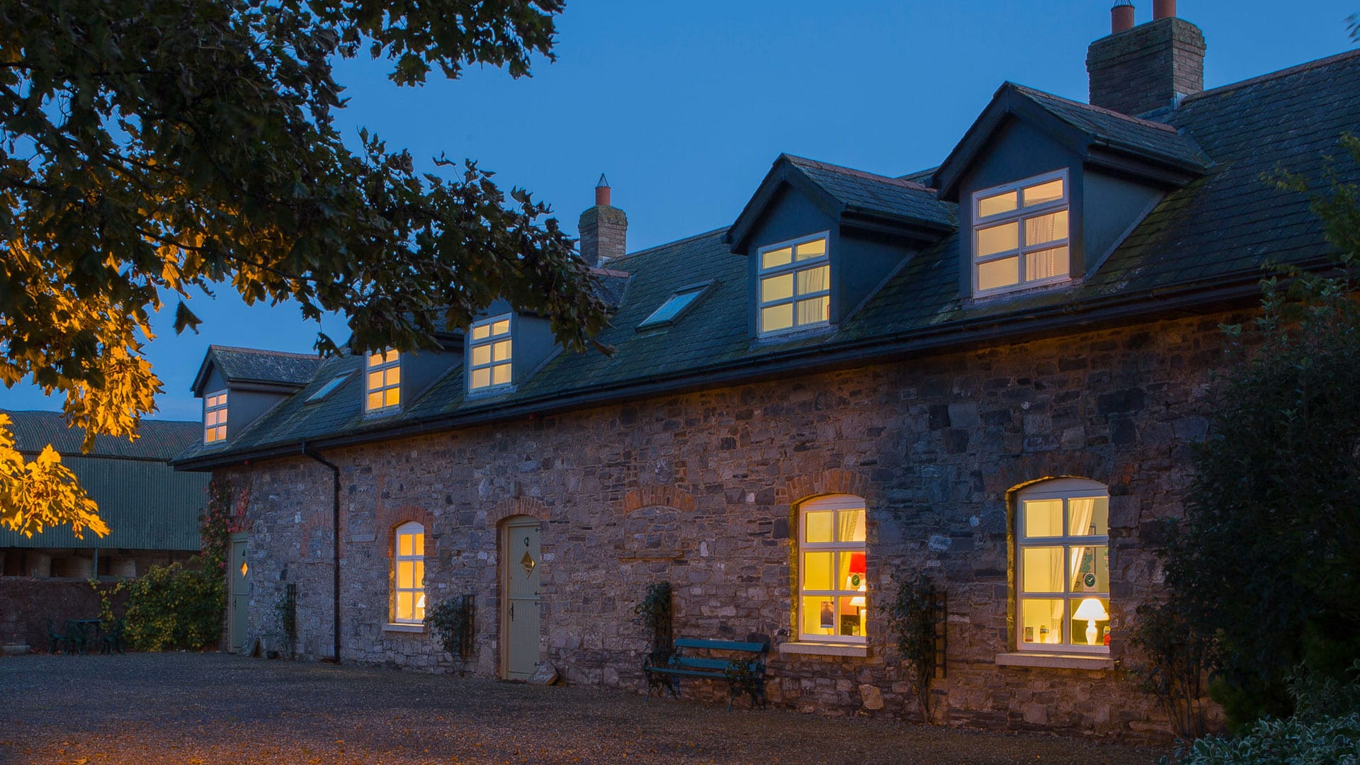 Book Online Self Catering Cottage Dunboyne Meath Dark-Night-House-Cottage-View-Holiday-Homes-Ireland-Meath-Dunshaughlin-Self-Catering-1