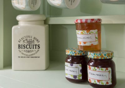 Kitchen Jam Marmalade Preserves Biscuits Tin Holiday-Homes-Ireland-Meath-Dunshaughlin-Self-Catering