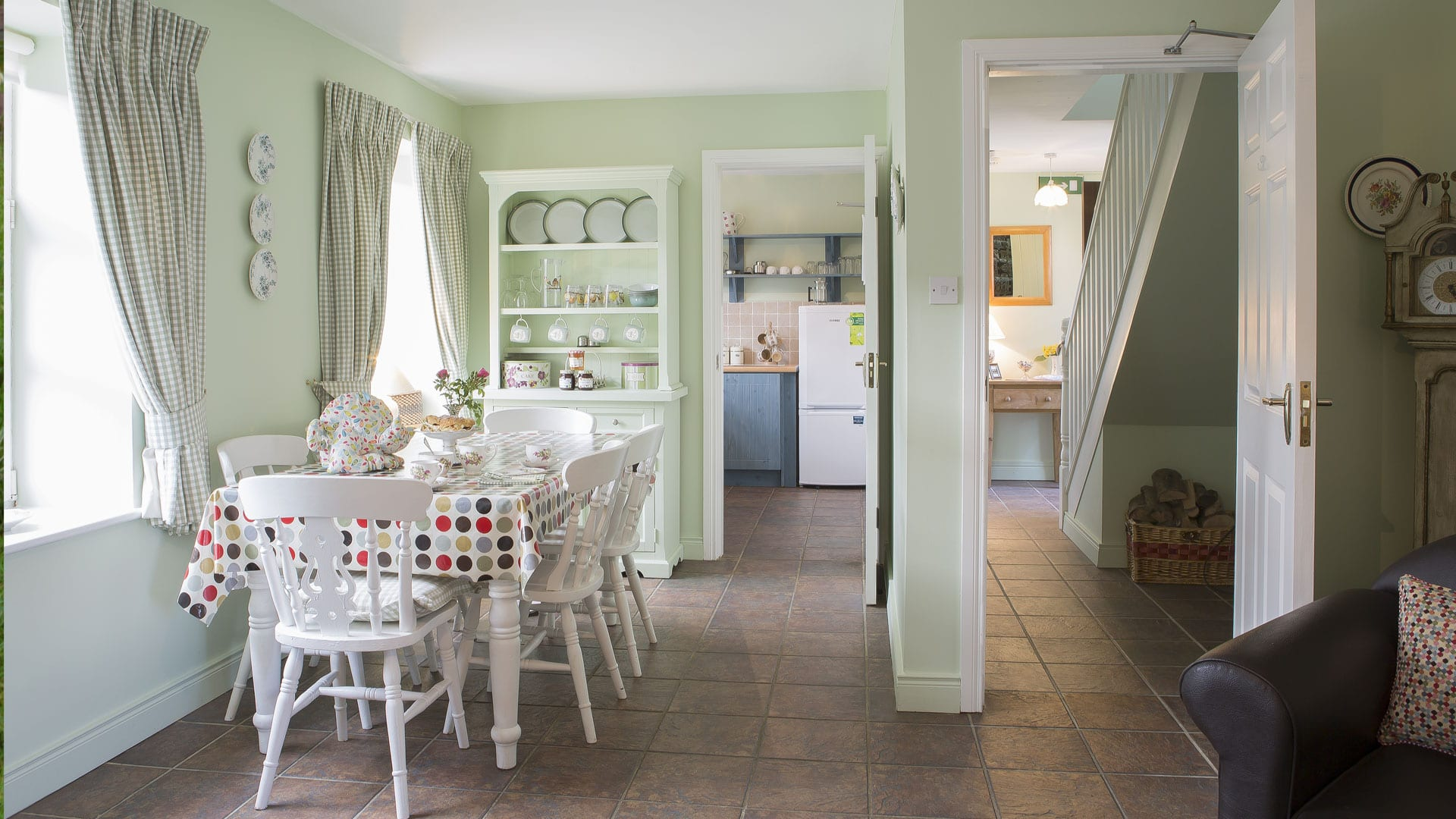 Ornate-Decor-Kitchen-Afternoon-Tea-Scones-Coffee-Cups-Teapot-Holiday-Homes-Ireland-Meath-Dunshaughlin-Self-Catering