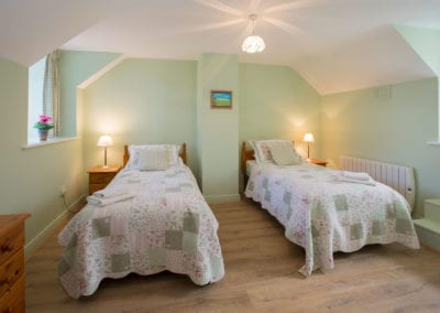Single Beds Bedroom Twin Room Holiday-Homes-Ireland-Meath-Dunshaughlin-Self-Catering